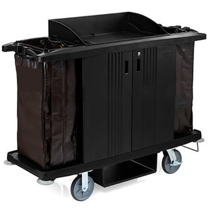 Picture of Housekeeping Cart 152cm x 56cm x 127cm with Doors