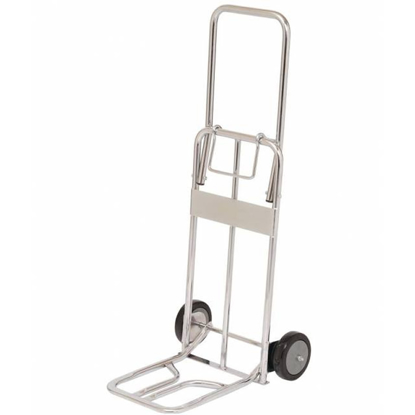 Picture of Foldable Hand Truck Chrome Plated 80 Kg Load Capacity