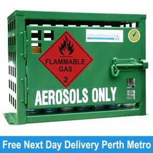 Picture of Aerosol Storage for 12 Spray Cans Melbourne