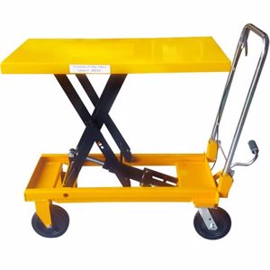 Picture of Manual Scissor Lift Table 200kg Capacity 1m Lift